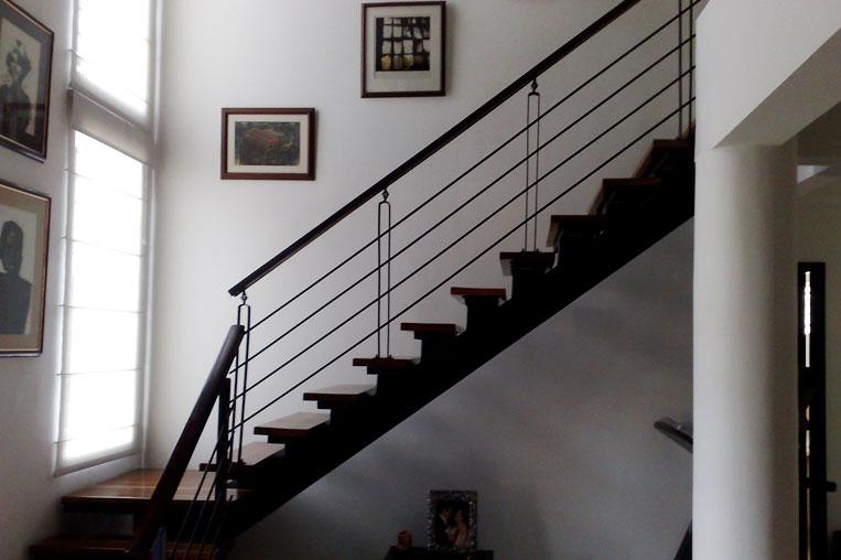 escaleras metlicas cali